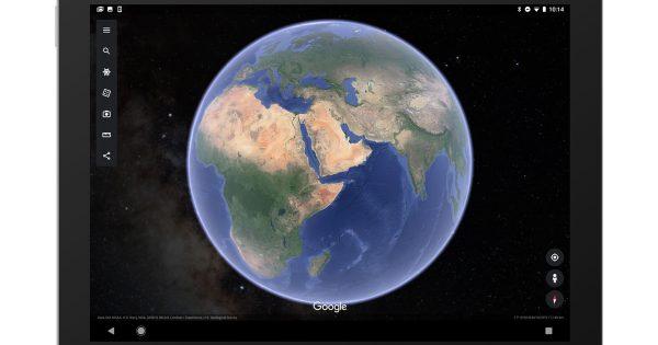 Google Earth dành cho thiết bị di động được cập nhật với chế độ xem đáng yêu của các ngôi sao 1