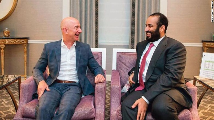 Jeff Bezos hack iPhone