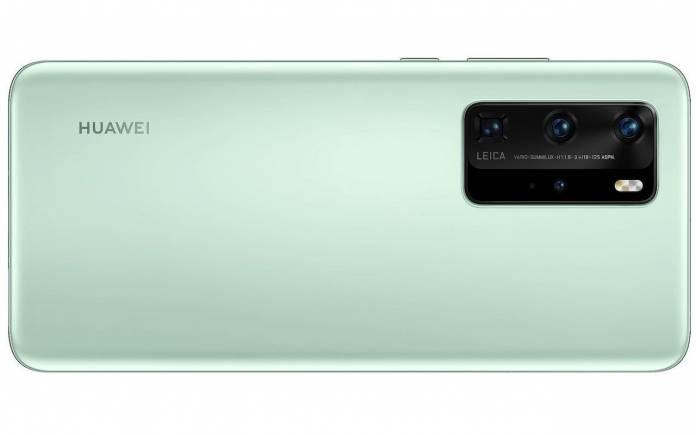 Huawei P40 Pro có thể có màu Mint Green 2