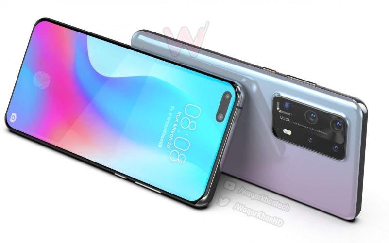 Huawei P40 Pro thể hiện mình trong một khái niệm mới 1