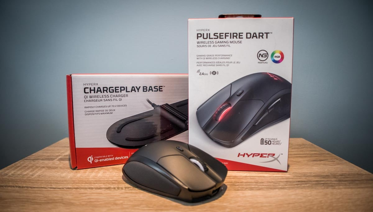 Hyper X Pulsefire Dart & ChargePlay Base 1