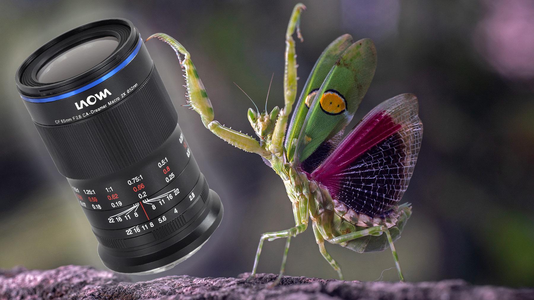 Laowa 65mm f /2.8 Ống kính APO 2X Macro cho APS-C được công bố 1