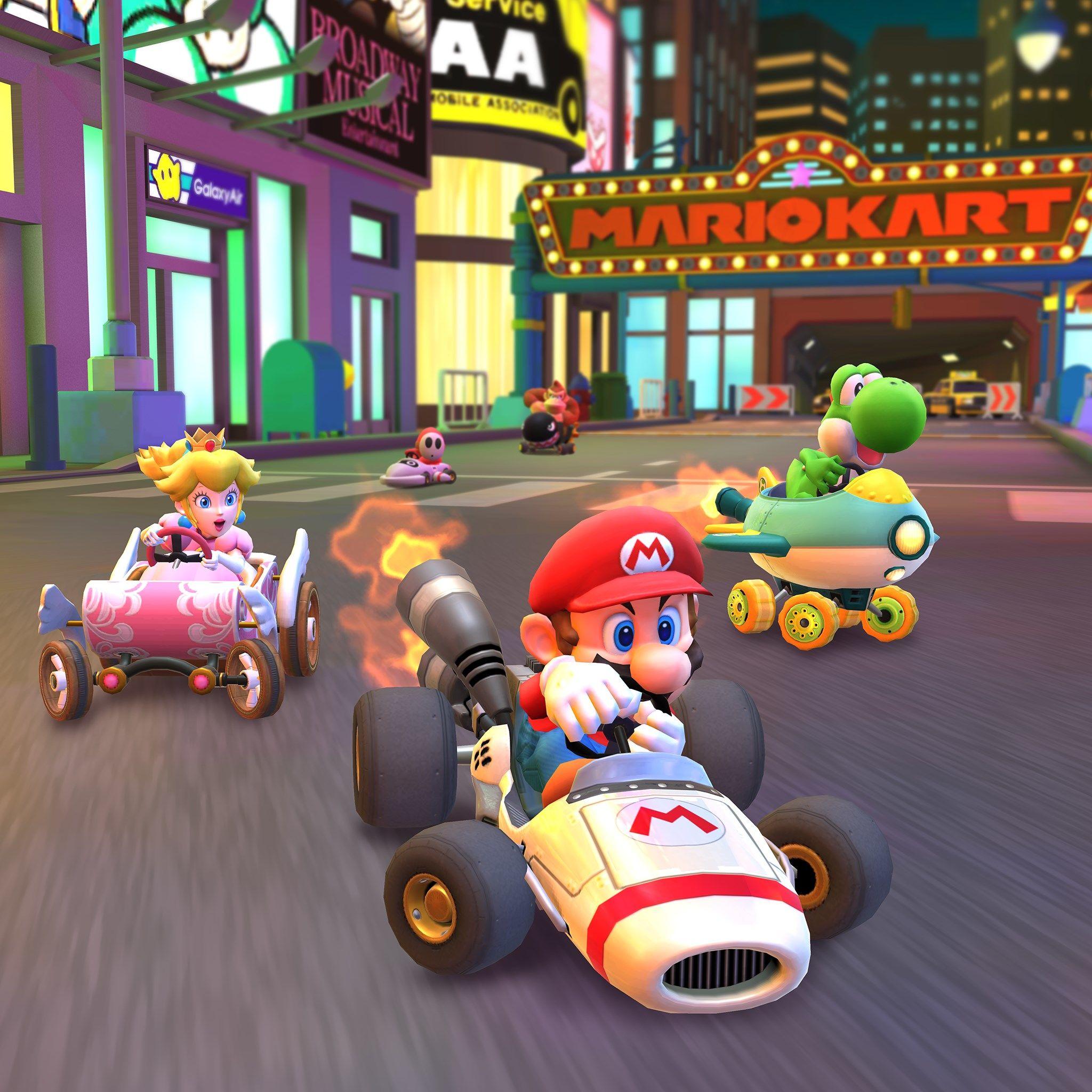 Mario Kart Tour sẽ vang lên vào năm 2020 với một tour du lịch năm mới 2