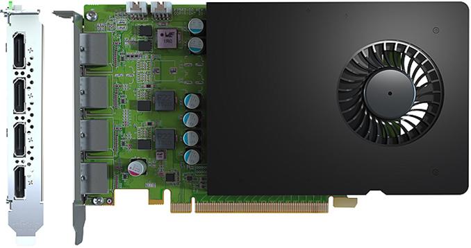 Matrox tiết lộ các card đồ họa D-Series với GPU NVIDIA Quadro 1