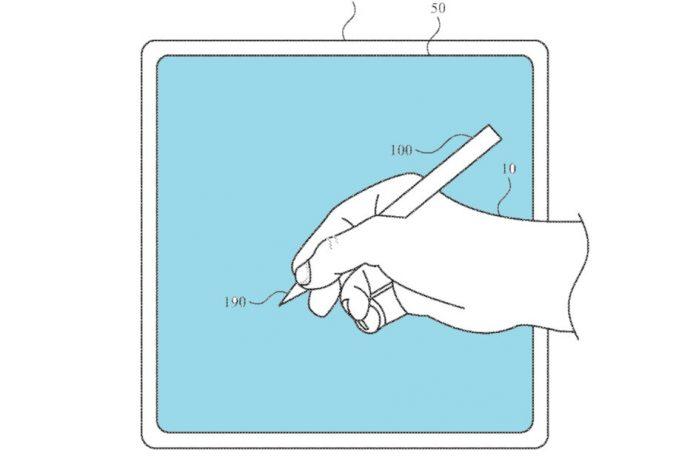 Mới Apple Gợi ý bằng sáng chế bút chì tại Micrô, Máy quét vân tay, Máy ảnh 1