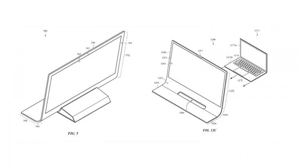 Một iMac trong tương lai có thể được chế tạo từ một tấm kính cong Apple bằng sáng chế 1