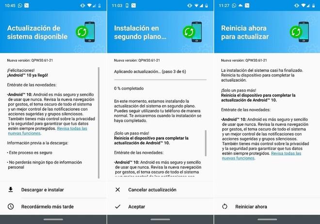 Moto G7 Plus bắt đầu nhận được bản cập nhật Android 10 1