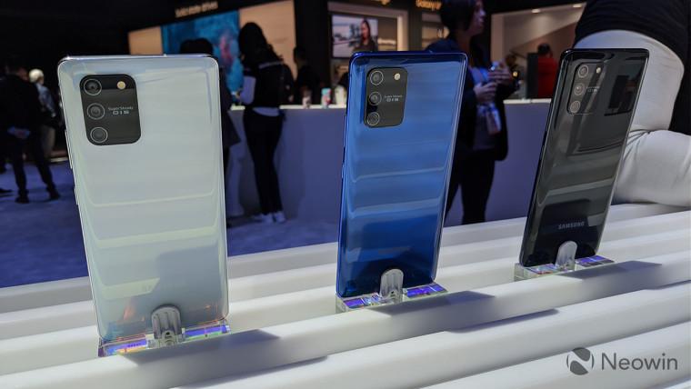 Nhanh tay với Galaxy S10 Lite và Galaxy Note10 Lite 3