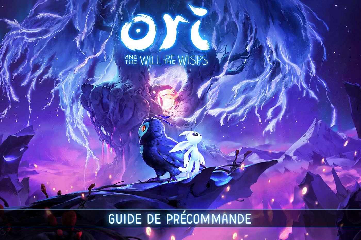 Hướng dẫn đặt hàng trước của Ori and Will of the Wisps