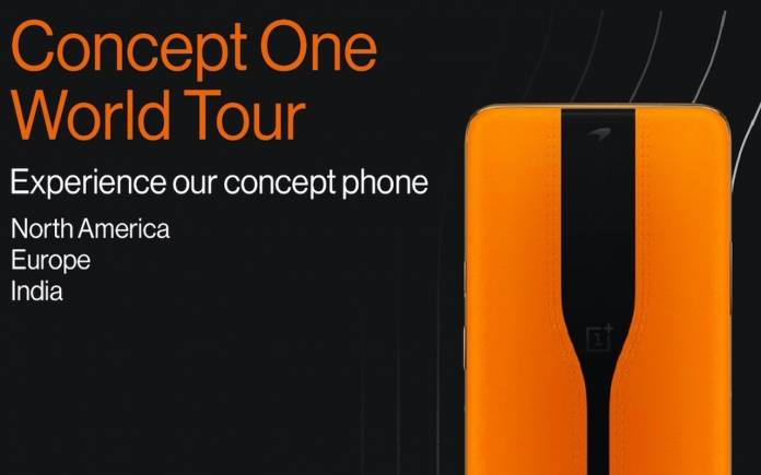 Khái niệm OnePlus Tour Thế giới