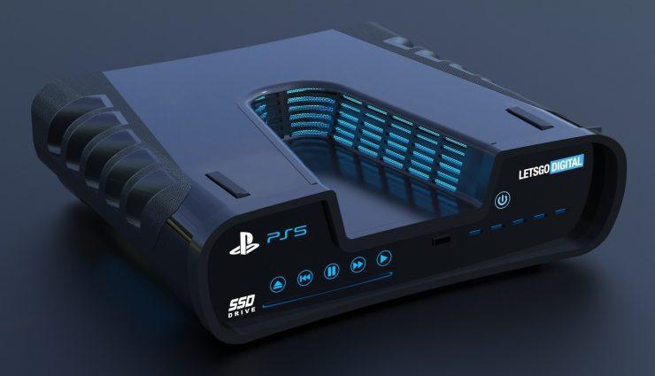 Thiết kế PlayStation 5 làm bằng sáng chế 1 740x425 0