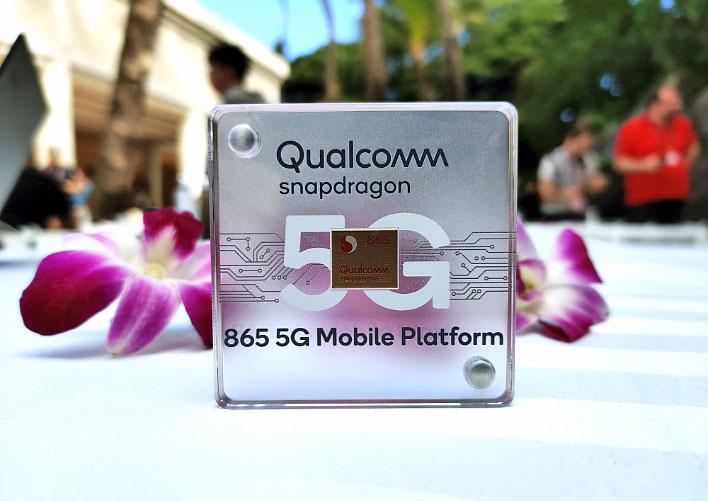 nền tảng di động Qualcomm snapdragon 865 5g