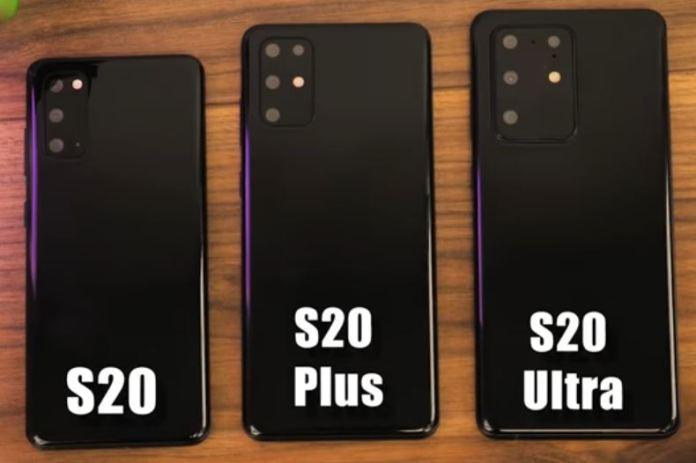 Samsung Galaxy Đơn vị giả bị rò rỉ S20
