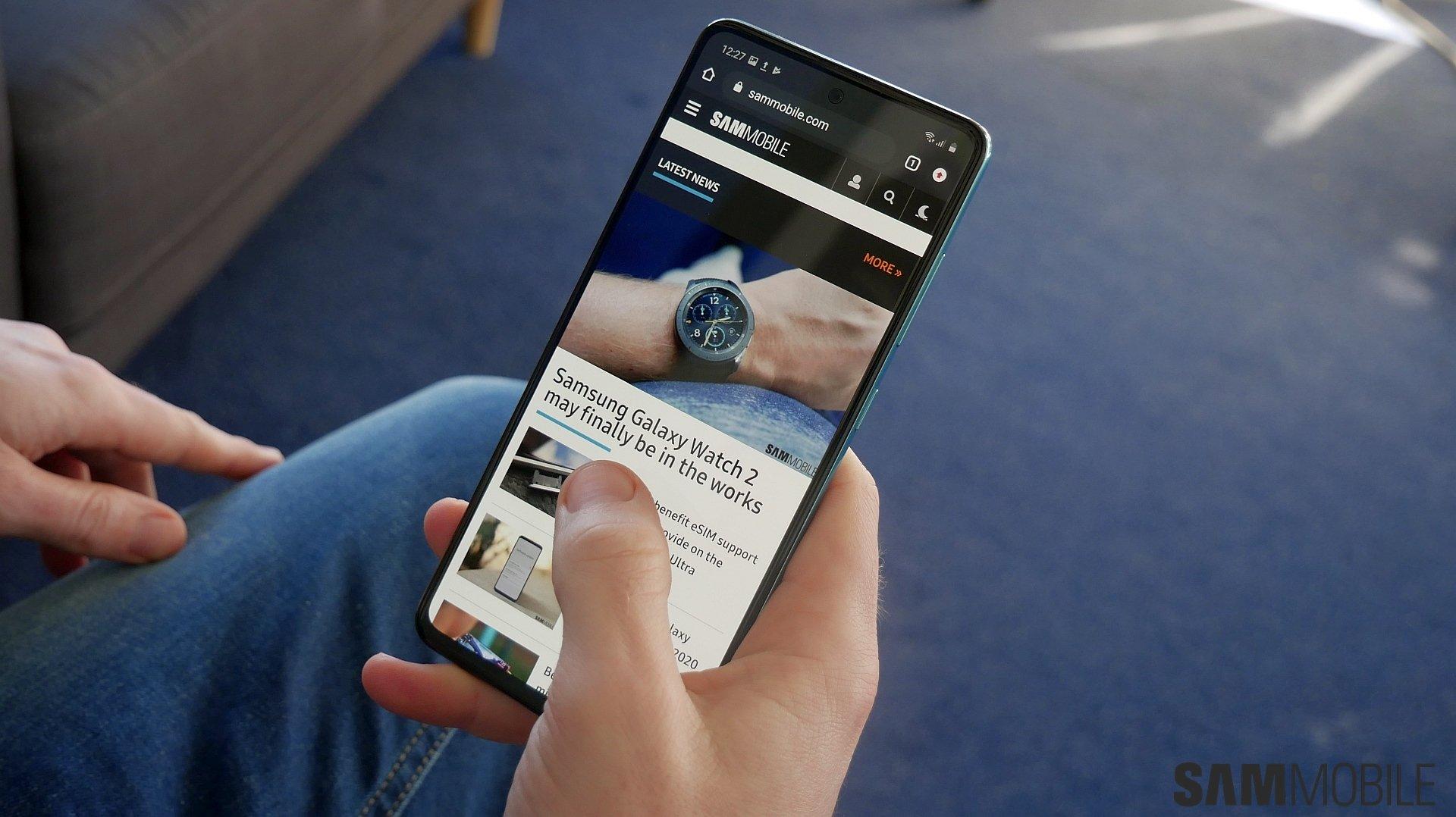 Samsung Galaxy Đánh giá A51: Hoàn hảo trong thực tế của chính nó 2