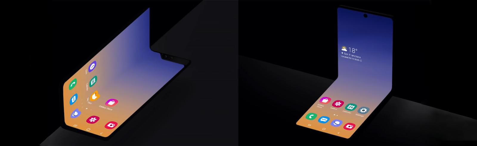 Samsung Galaxy Fold 2  sẽ cố tình được bán Galaxy Lật Z