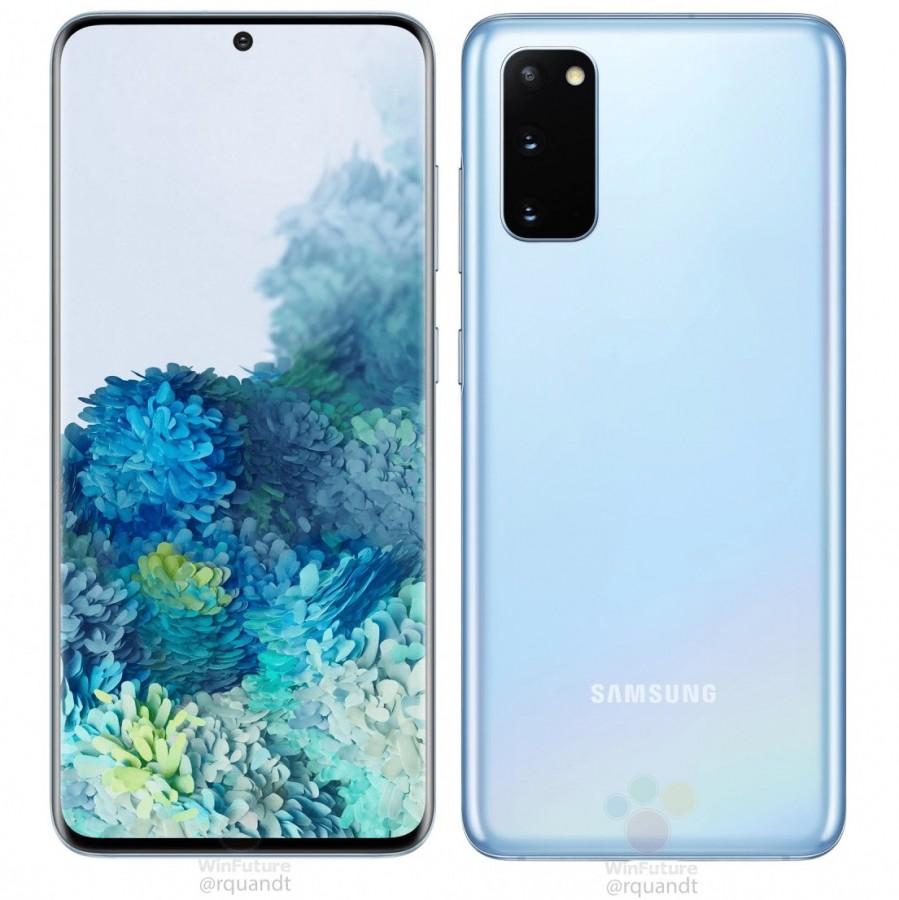 Samsung Galaxy Tùy chọn màu S20 được giới thiệu