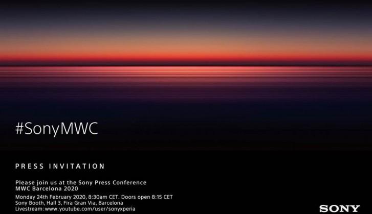 Sony sẽ giới thiệu thiết bị Xperia tiếp theo của mình tại sự kiện MWC vào ngày 24 tháng 2 4