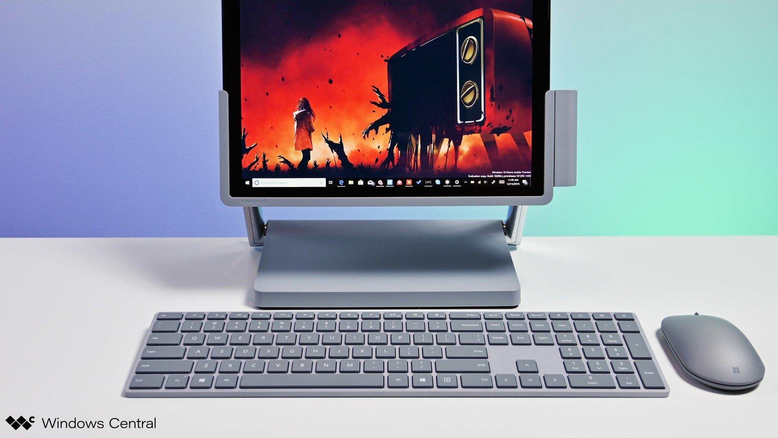 Surface Pro, hãy nói có với các giải pháp với dock 4