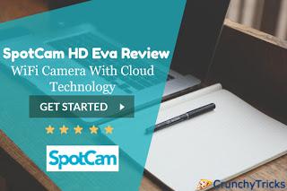 Tăng cường bảo mật tại nhà của bạn với công nghệ hiện đại: SpotCam HD Eva 1