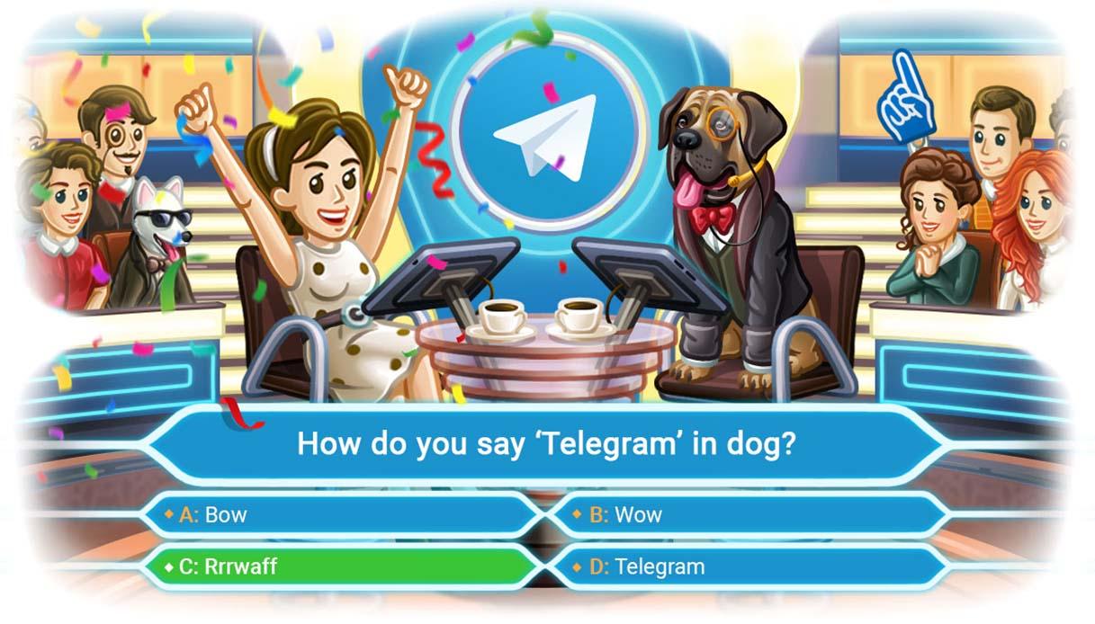 Telegram cập nhật với các khảo sát và câu hỏi: cách chúng hoạt động 1