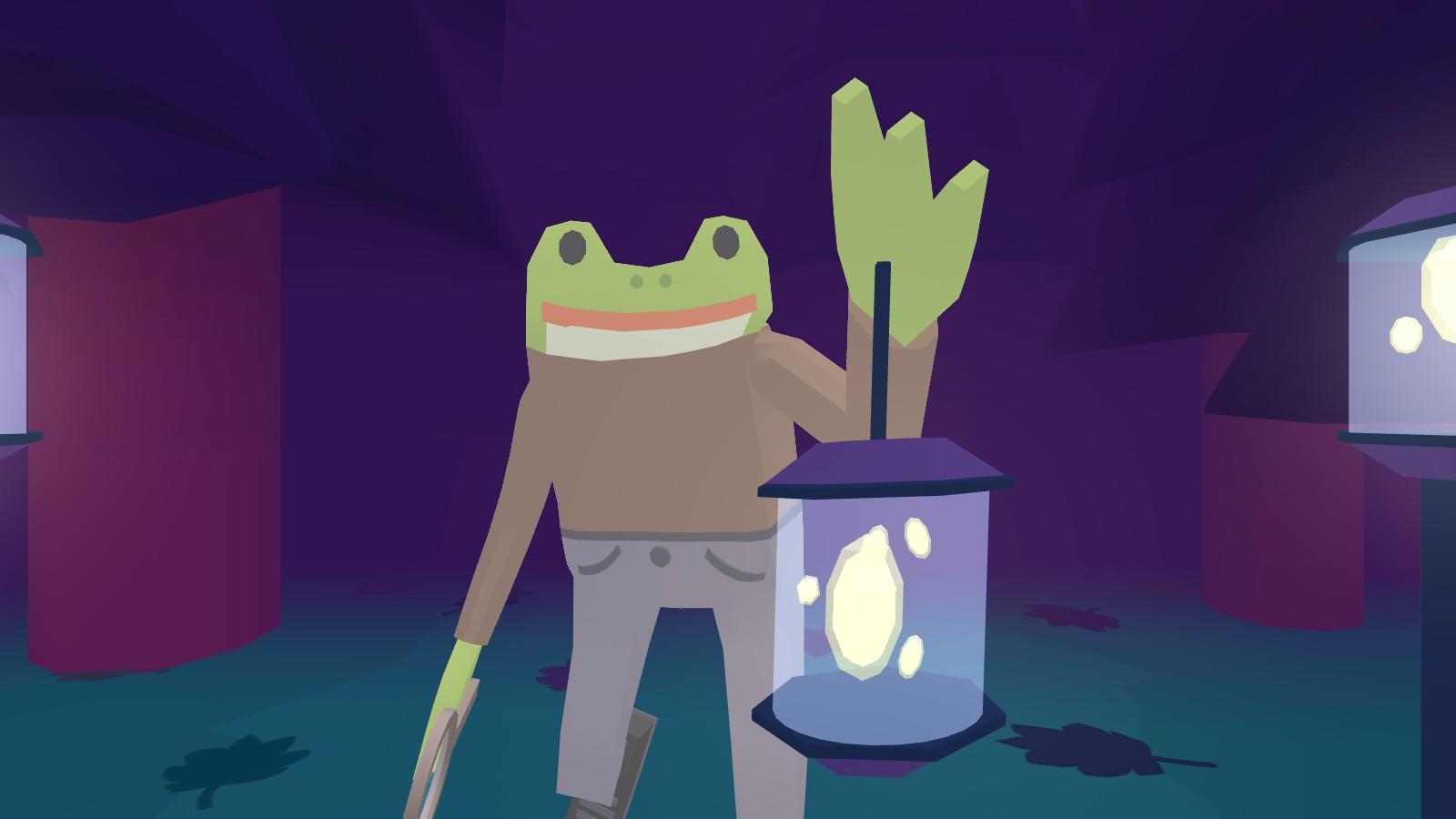 Thám tử ếch 2: Trường hợp của Đánh giá thuật sĩ vô hình 1