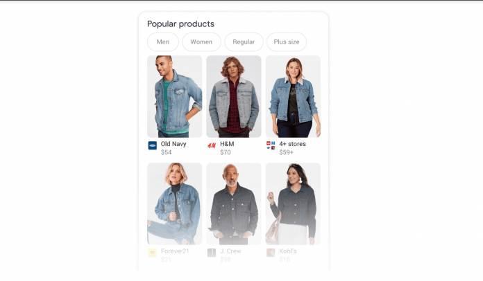 Tìm kiếm của Google cải thiện kết quả mua sắm quần áo, giày dép, phụ kiện 2