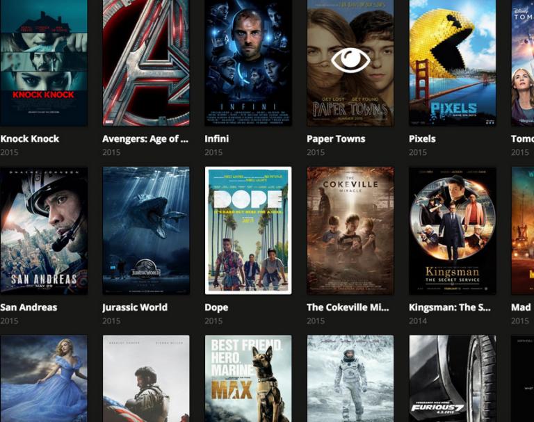 Trang web phim trực tuyến - Giống như một xu hướng ngày nay 1