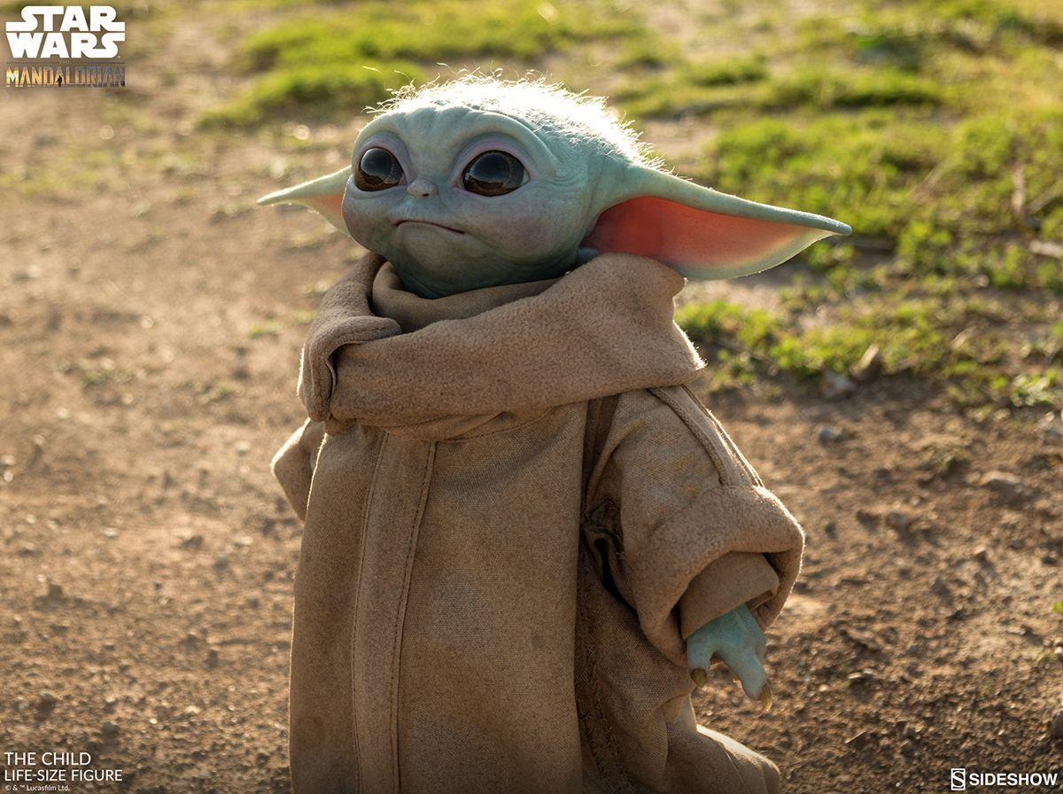 Tượng Yoda cho bé có kích thước thật đã có sẵn để đặt hàng trước 1