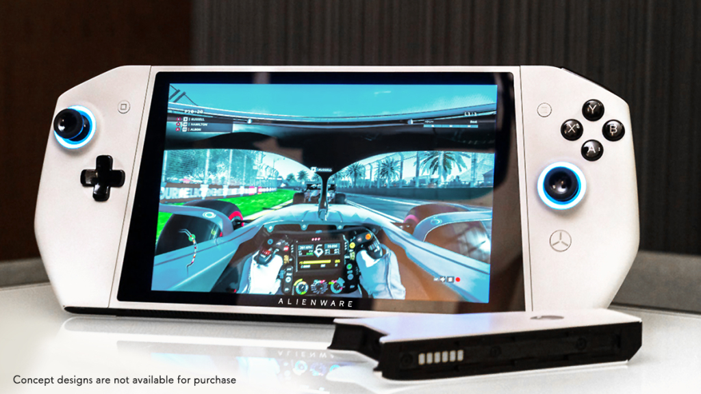 Khái niệm UFO là sự đặt cược của Dell để đổi mới cách chơi trò chơi trên PC (Ảnh: Sinh sản)