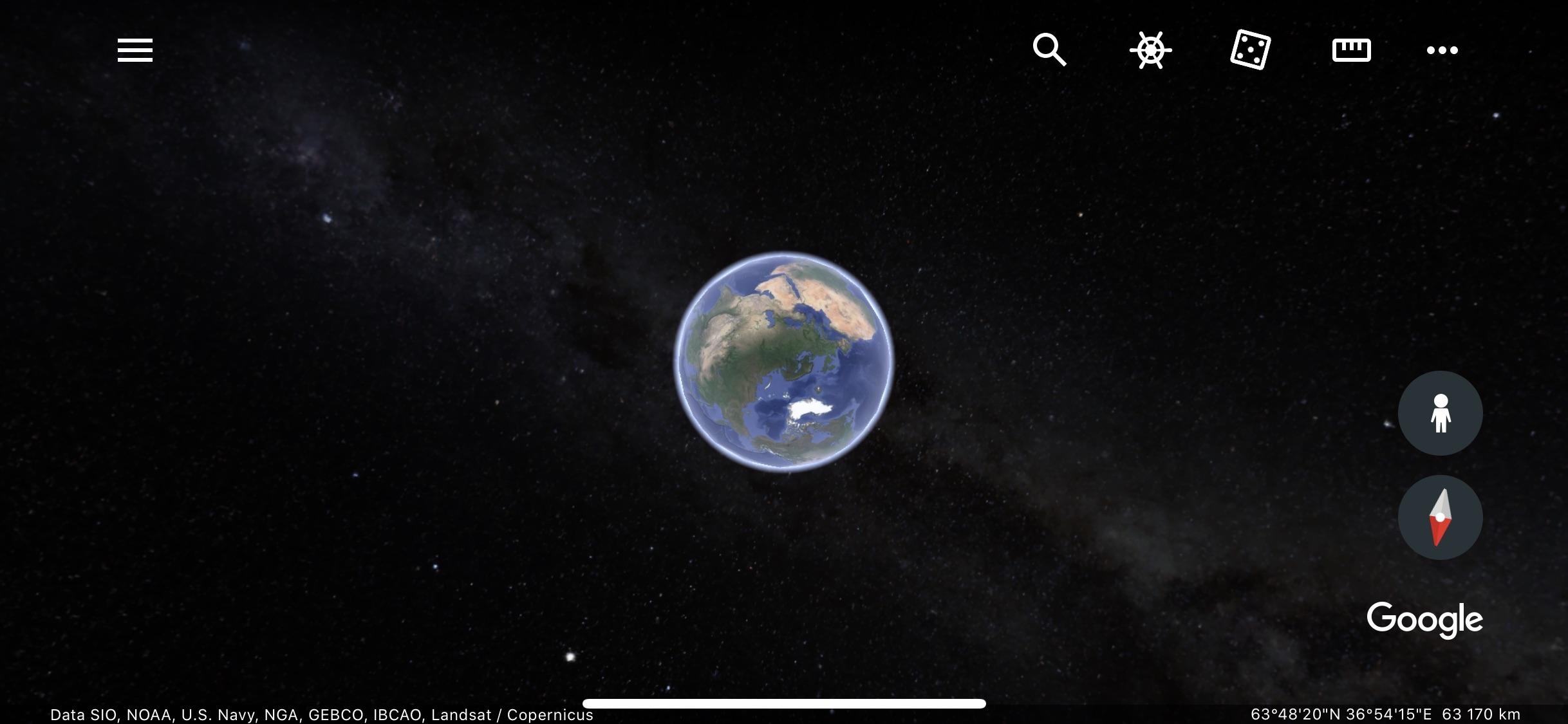google trái đất