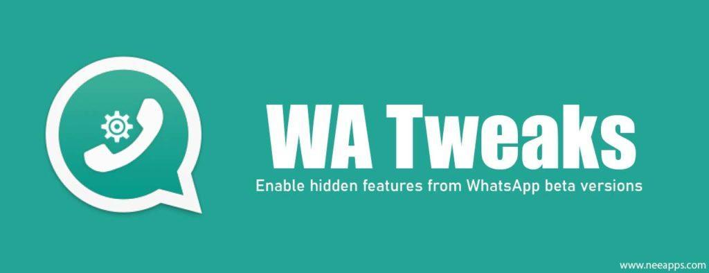 WA Tweaker WhatsApp MOD Descargar APK 1.4.8 [2019] 1