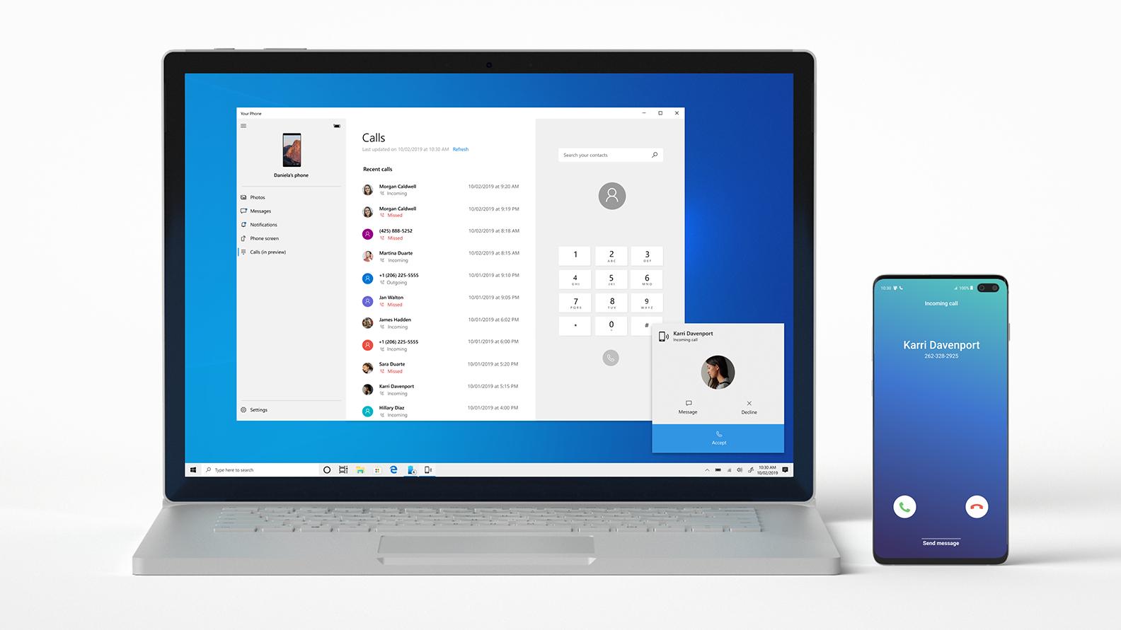Windows 10 giờ cho phép tất cả người dùng thực hiện cuộc gọi điện thoại Android từ PC bằng điện thoại của bạn 1