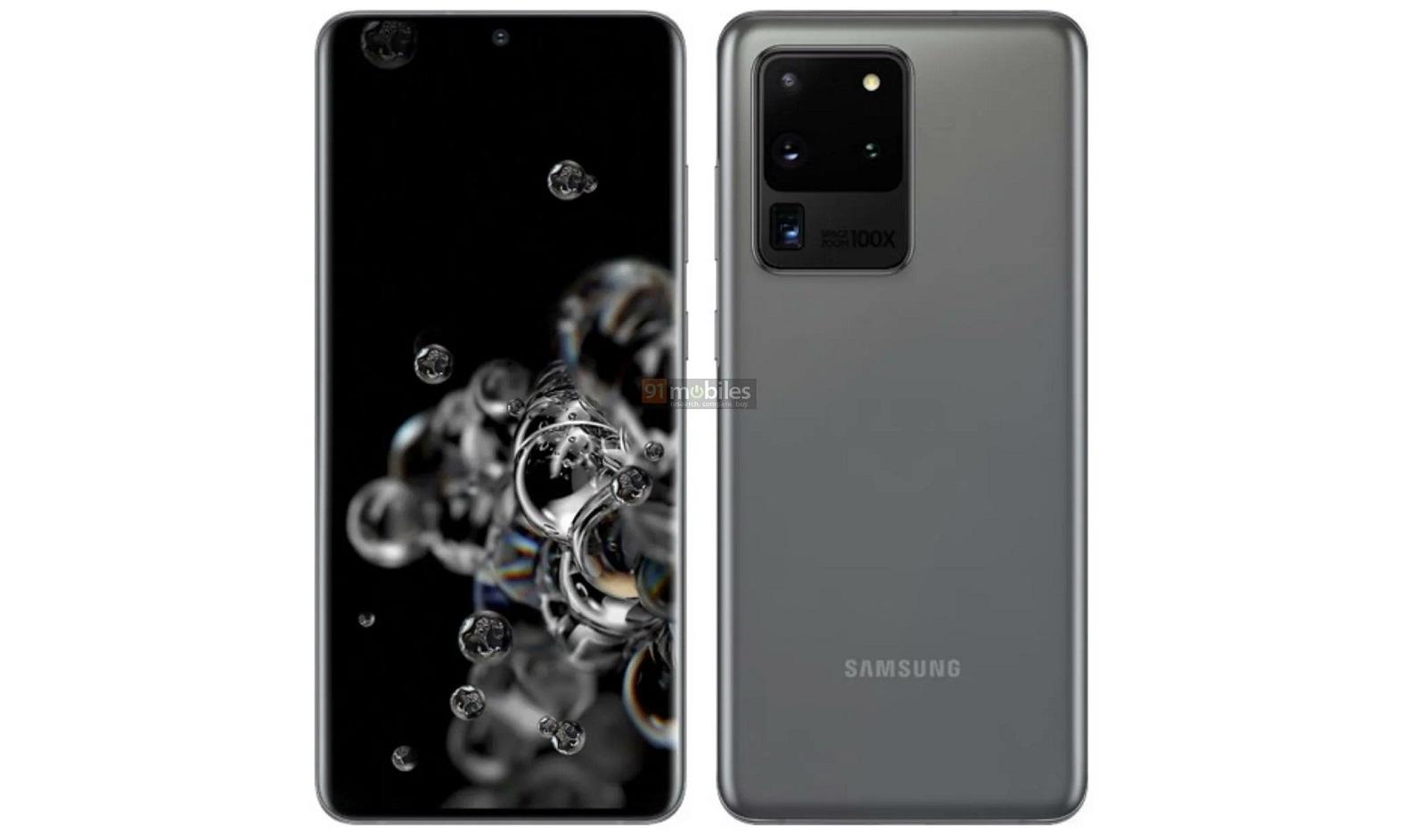 Xem Samsung Galaxy Zoom kính tiềm vọng 48MP của S20 Ultra 5G 2
