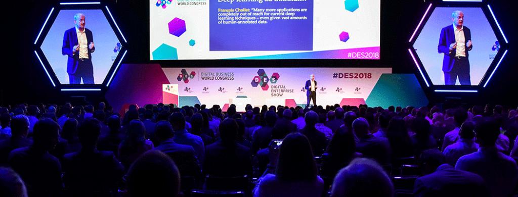 DES là sự tiếp xúc tốt nhất cho những ai muốn đổi mới trong kinh doanh bằng cách sử dụng công nghệ