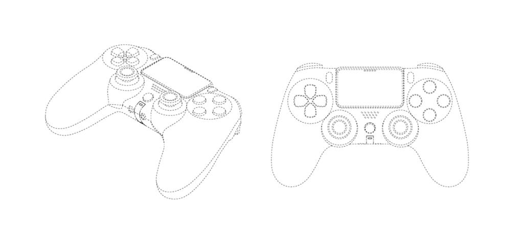 Bằng sáng chế DualShock 5 cho chúng ta thấy một phím điều khiển rất giống với PS4 (Ảnh: Phát lại)