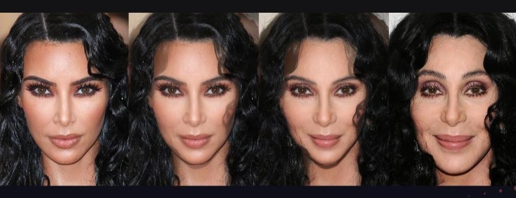 Ứng dụng Viral Gradient tiết lộ bạn trông như thế nào - và người Kardashian đang yêu thích nó 1