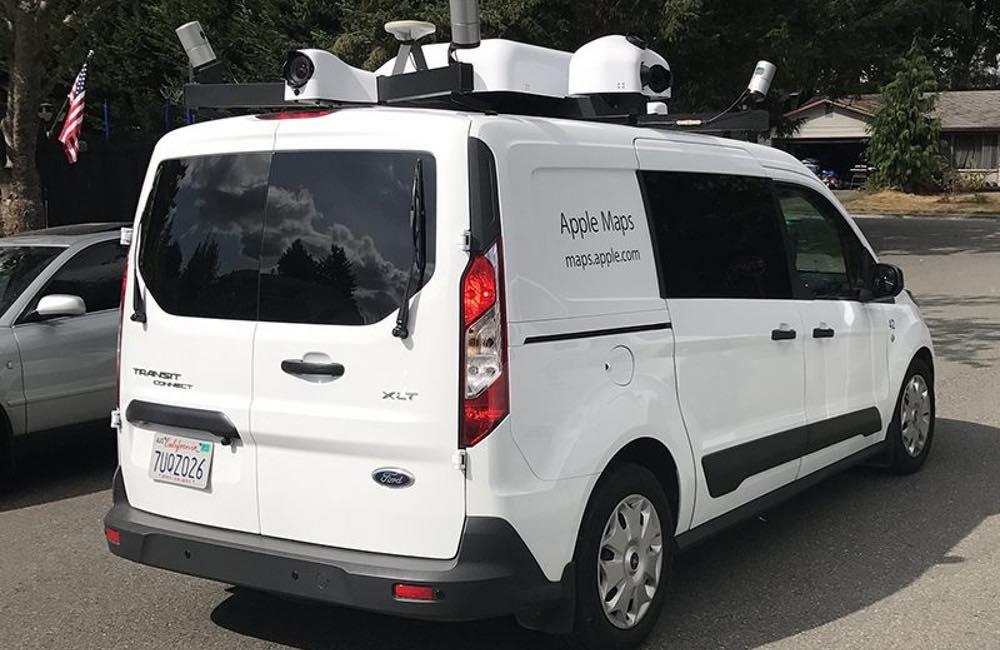 voiture apple plans Les voitures Apple Plans sur les routes de France !