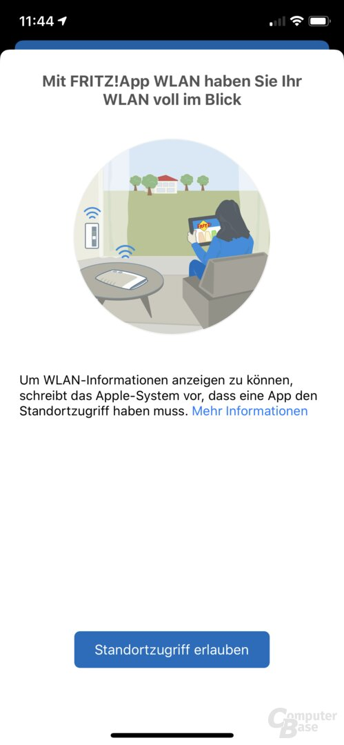 AVM Fritz! Ứng dụng WLAN