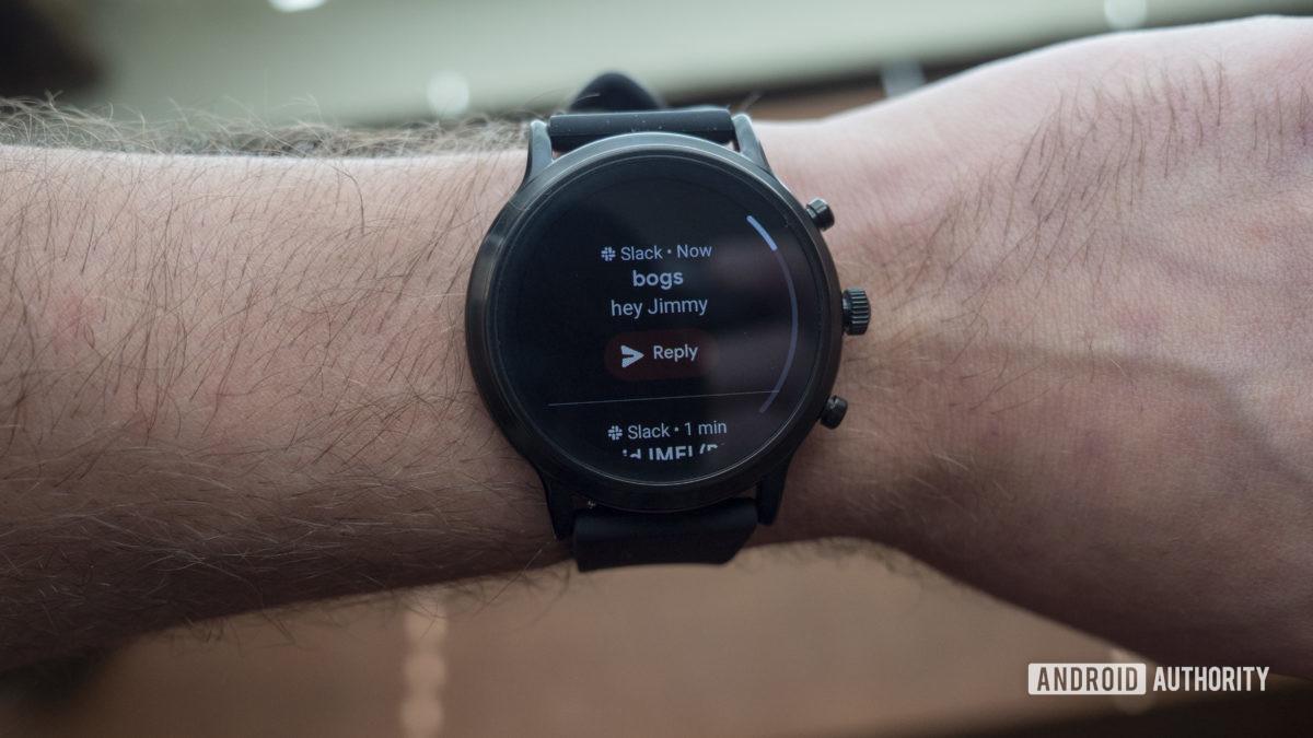 gen hóa thạch 5 thông báo đánh giá smartwatch chùng