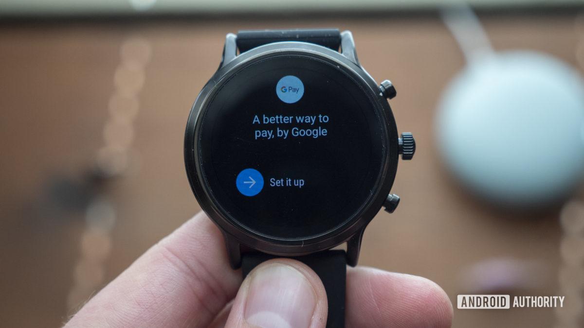gen hóa thạch 5 đánh giá smartwatch google pay
