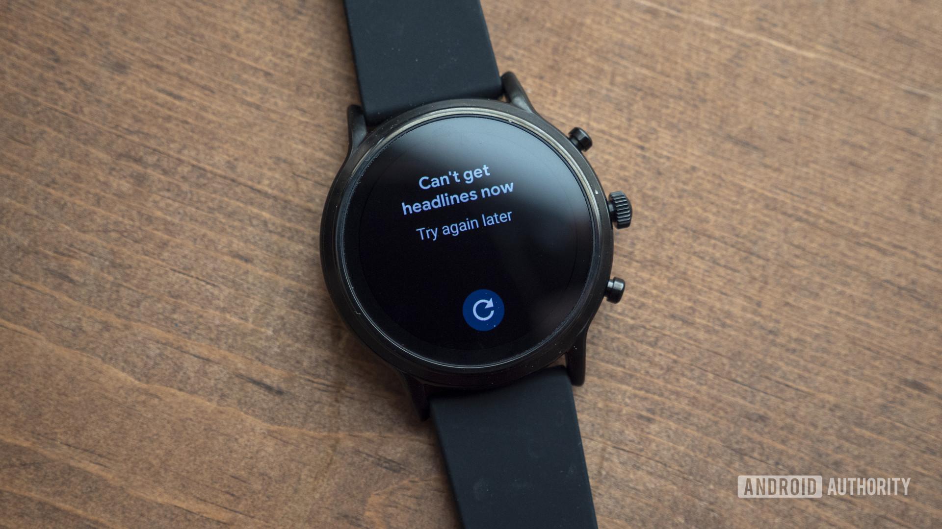 gen hóa thạch 5 đánh giá smartwatch không thể lấy tiêu đề google tin tức