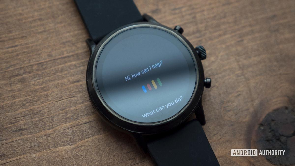 gen hóa thạch 5 đánh giá smartwatch trợ lý google