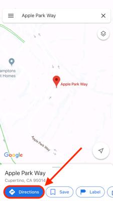 Cách xem giới hạn tốc độ trên Google Maps 2