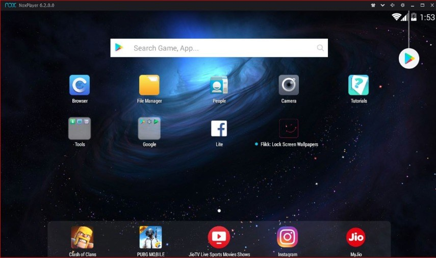Trình giả lập Android tốt nhất - Trình phát ứng dụng Nox