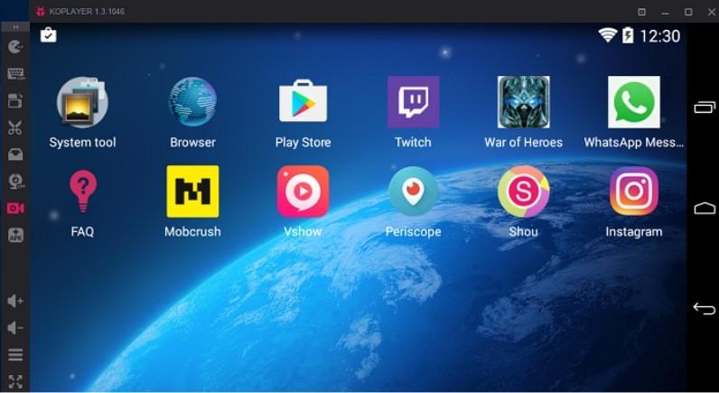 Trình giả lập Android hàng đầu - KoPlayer