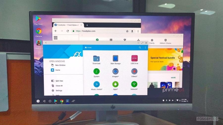 Trình giả lập Android tốt nhất - PrimeOS