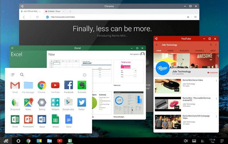 Trình giả lập Android tốt nhất - Hệ điều hành Remix
