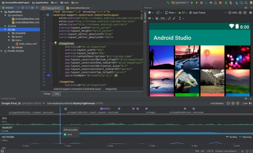 Trình giả lập Android hàng đầu - Android Studio