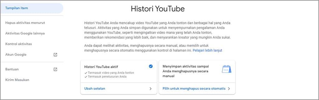 Cách xóa lịch sử Youtube tự động 3