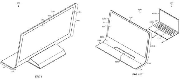 iMac: một mẫu siêu mỏng và có thể gập lại mới 3